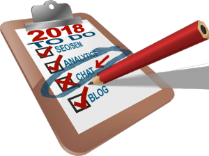 2018 Online Marketing Checklist